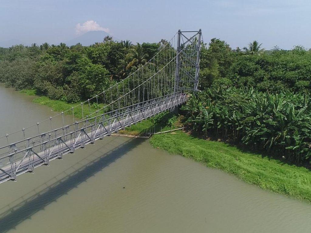 Jokowi Habiskan Rp 710 M Bangun 148 Jembatan Gantung Tahun Ini