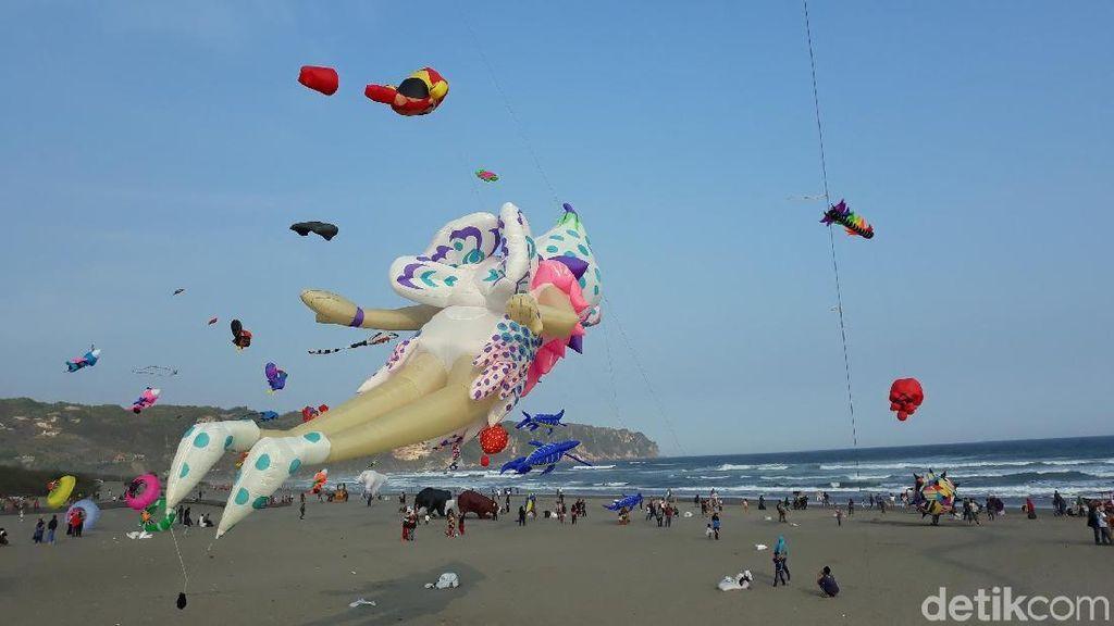 Hari Minggu, Ayo ke Festival Layang-layang di Bantul