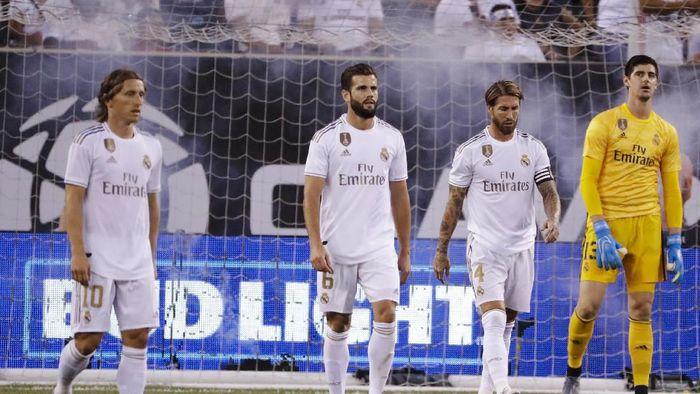 Real Madrid suram betul di laga tur pramusim di Amerika Serikat (AP Photo/Frank Franklin II)