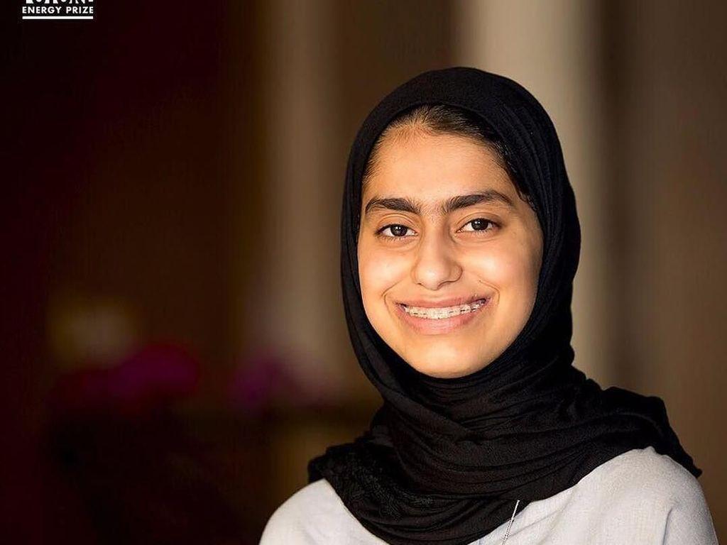 Potret Fatima Al Kaabi, Hijabers yang Jadi Penemu Robot Termuda di Arab