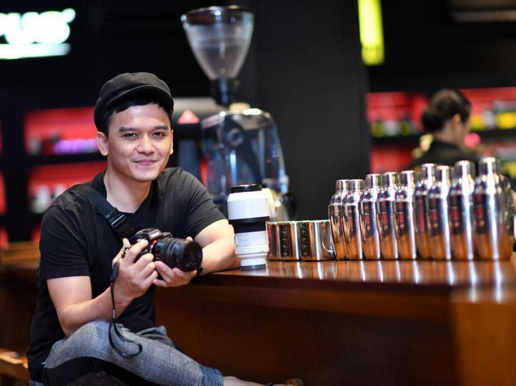 Ketagihan Fotografi, Bintang FTV Adama Abrahama Tetap Ngartis