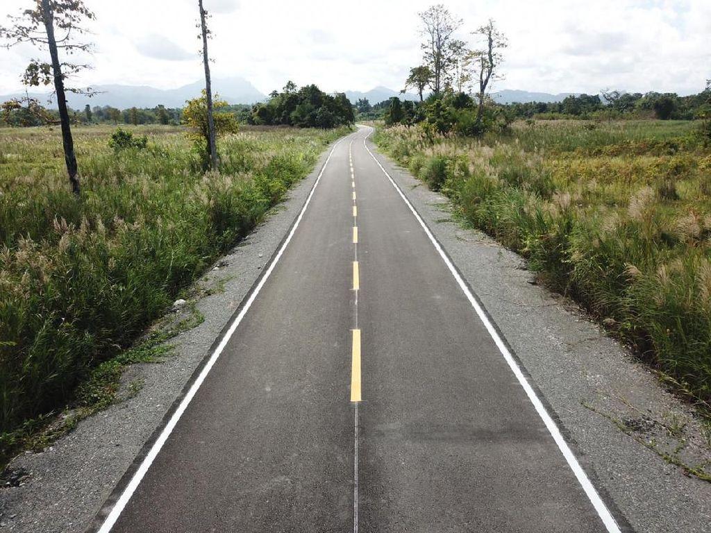 Mulus! Jalan di Timor Leste Ini Digarap BUMN RI