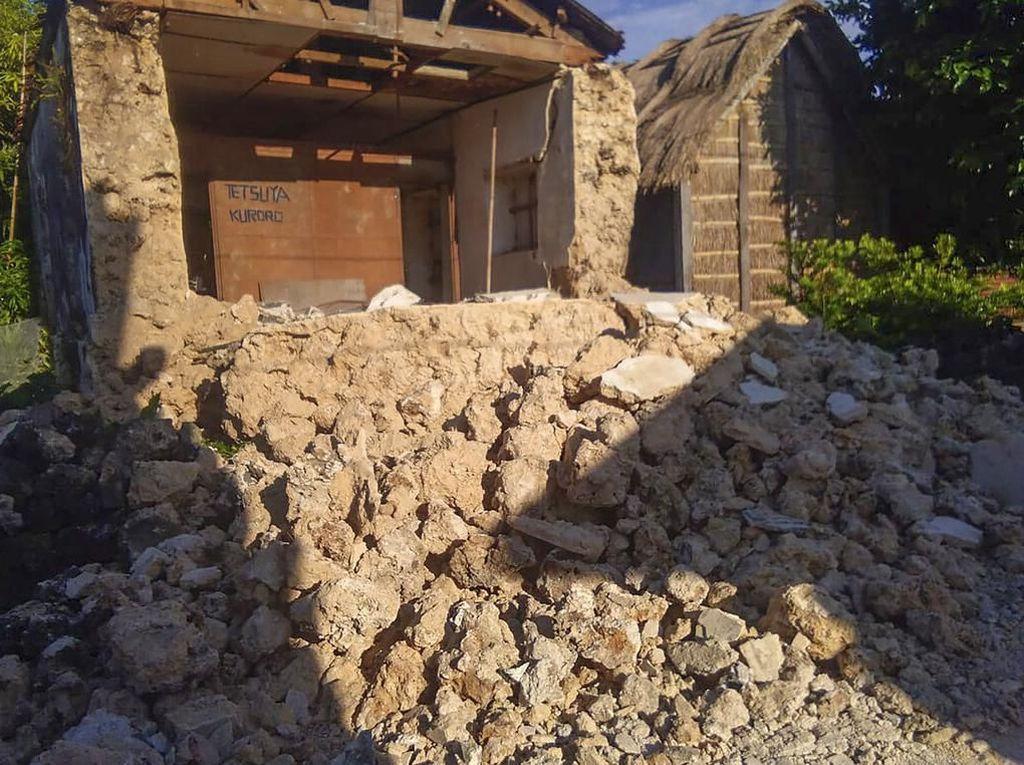 8 Orang Tewas Akibat Gempa Kembar di Filipina, Puluhan Luka-luka