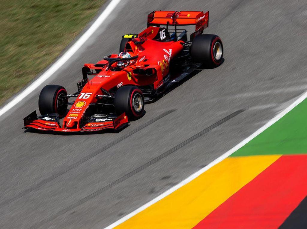 Giliran Leclerc Tercepat di FP2 GP Jerman, Ferrari Masih Dominan