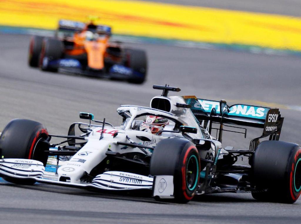 Kualifikasi GP Jerman: Hamilton Pole di Hockenheim