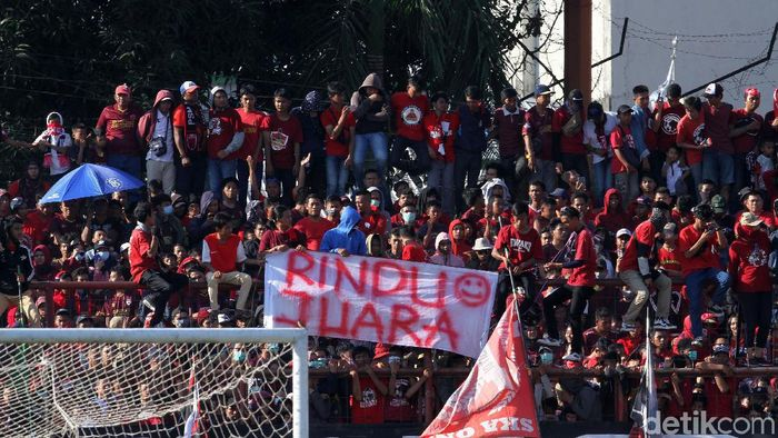 PSM Makassar hanya mau venue jadwal ulang digelar di Stadion Mattoanging. Foto: Rifkianto Nugroho