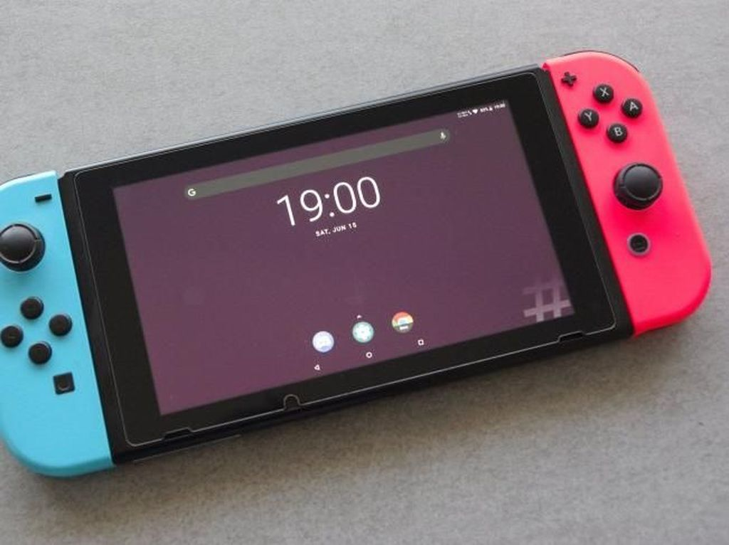Nintendo Switch Kini Bisa Pakai OS Android
