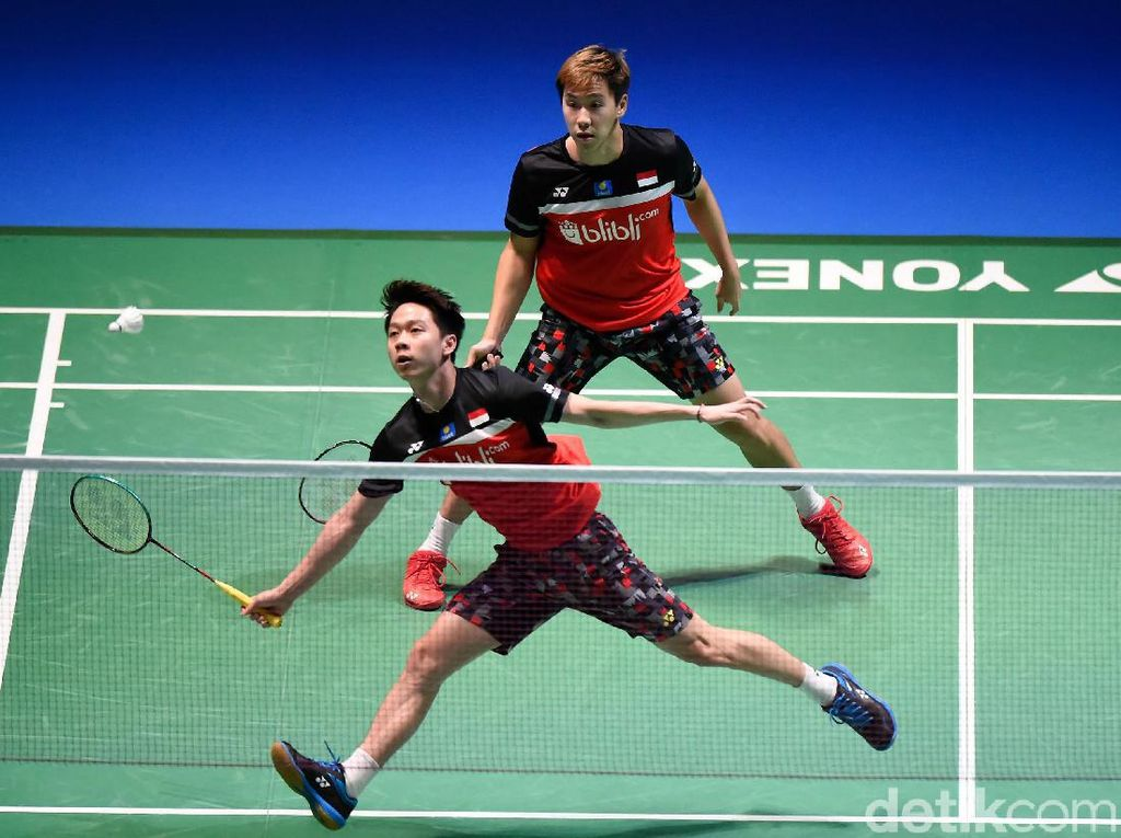 Kevin/Marcus Juara Fuzhou China Open