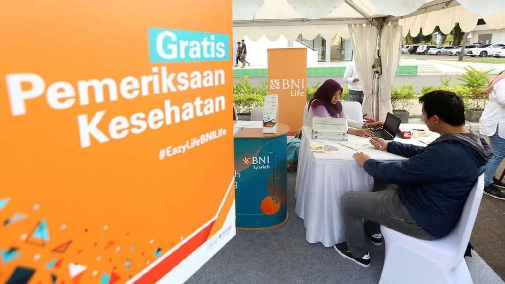 Produk Kuliner hingga Pemeriksaan Kesehatan Gratis Ramaikan RKB BNI Fest