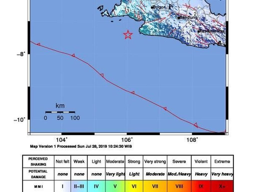 Gempa M 5,2 di Banten, BNPB Imbau Masyarakat Tak Panik