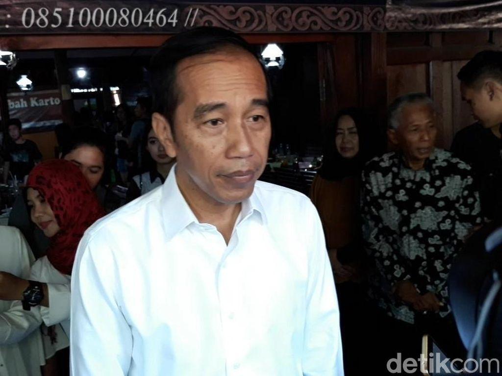Canda Jokowi soal Lagu Sewu Kutho Didi Kempot: Harusnya 514 Kutho