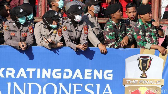 Persija Jakarta meminta pengawalan lebih ketat di laga tunda leg kedua final Piala Indonesia (Rifkianto Nugroho/detikSport)