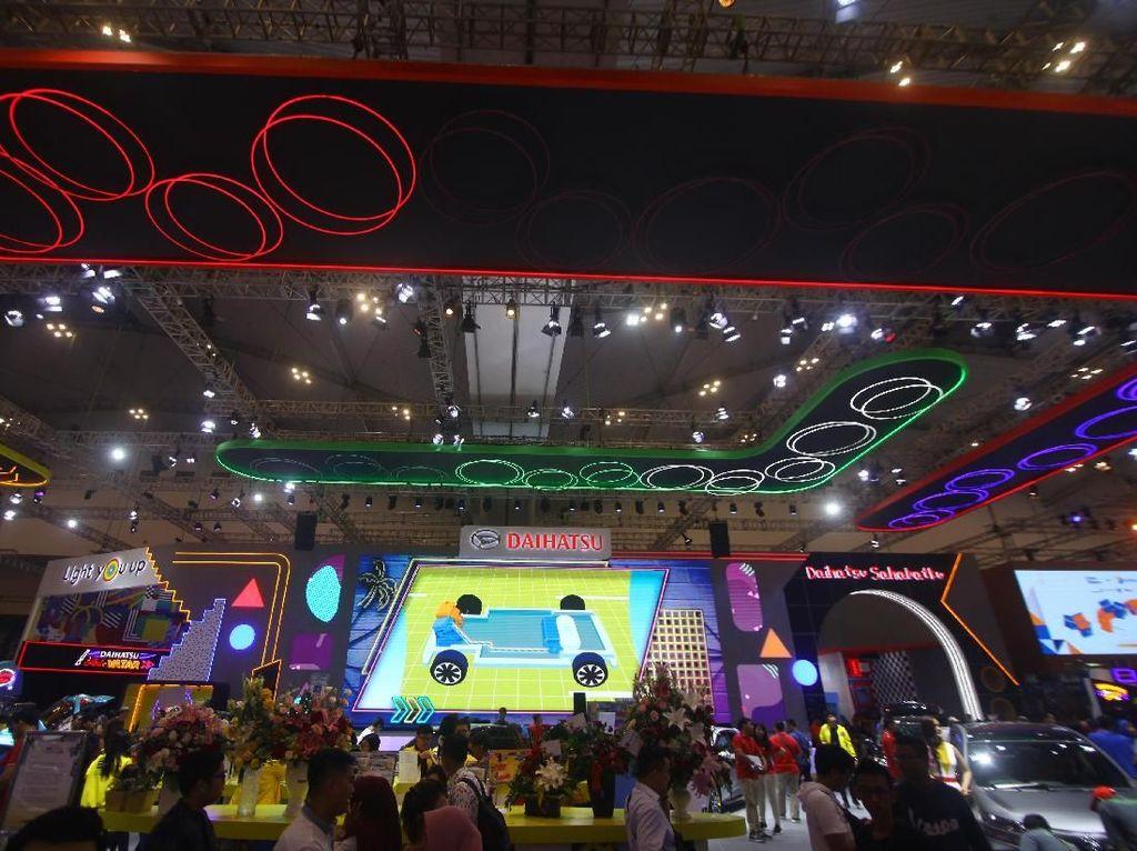 4 Tahun Berturut-turut Daihatsu Jadi Booth Favorit di GIIAS