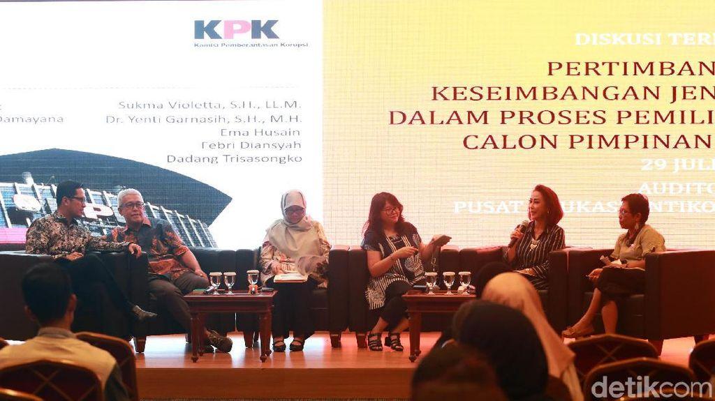 Diskusi Jender dalam Memilih Pimpinan KPK