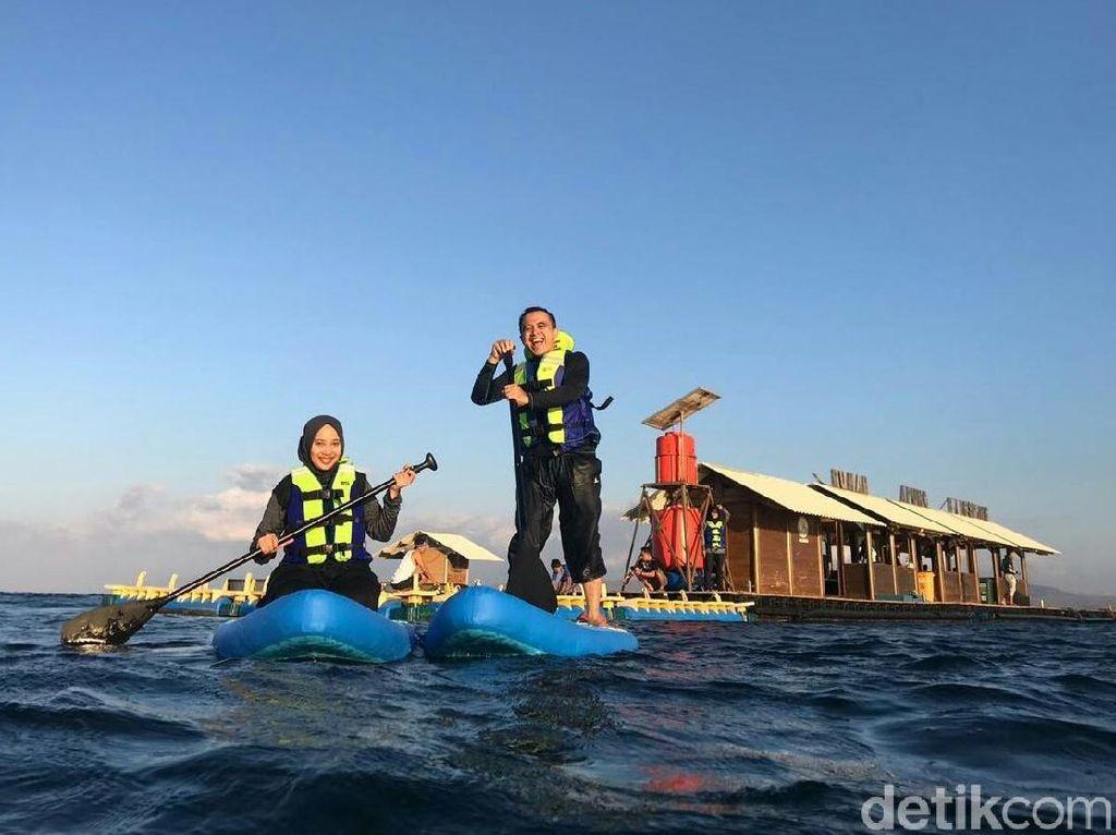 Deretan Wisata di Banyuwangi Tawarkan Sensasi Stand Up Paddle Board