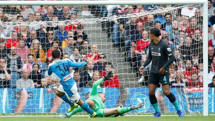 Liverpool dipermalukan Napoli 0-3 di laga pramusim. (Foto: Ed Sykes / Action Images via Reuters)