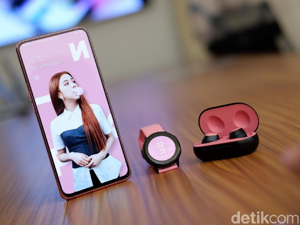 Halo BLINK! Galaxy A80 Edisi BLACKPINK Segera Hadir di Indonesia