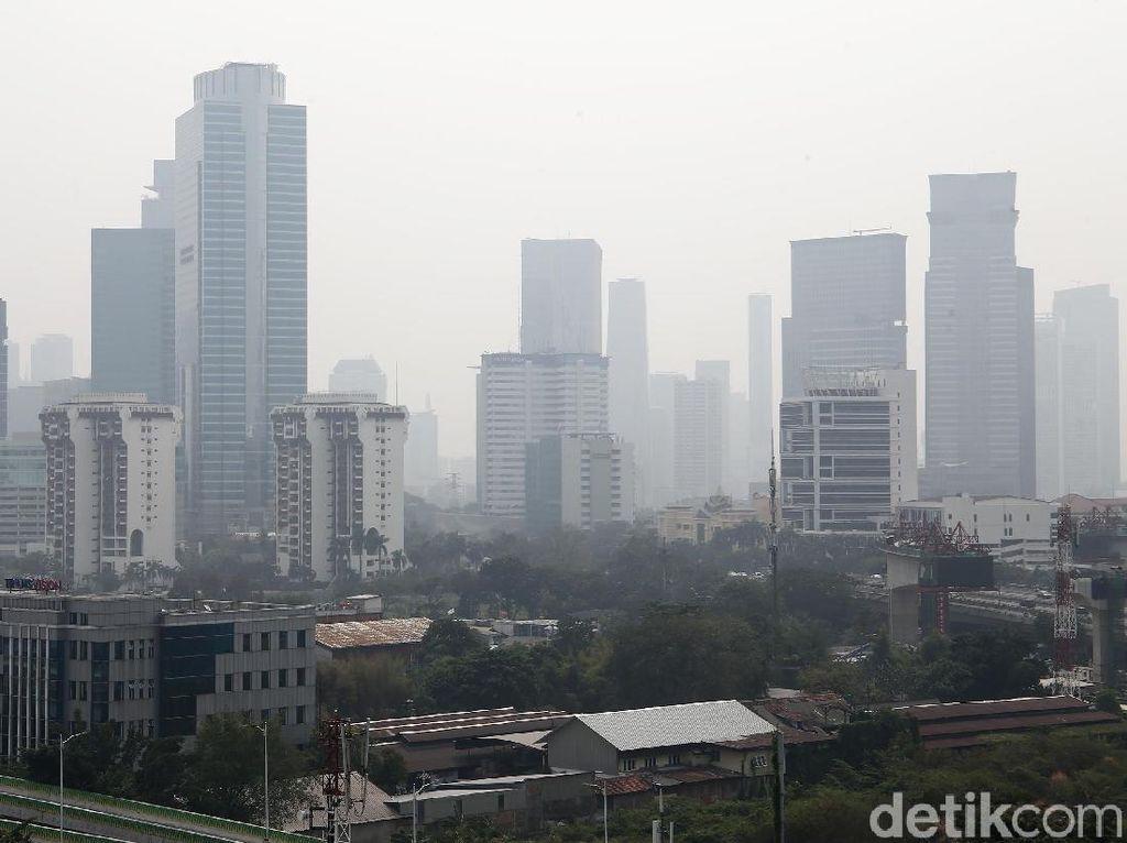 Jakarta Hari Ini, Kota Paling Berpolusi di Dunia