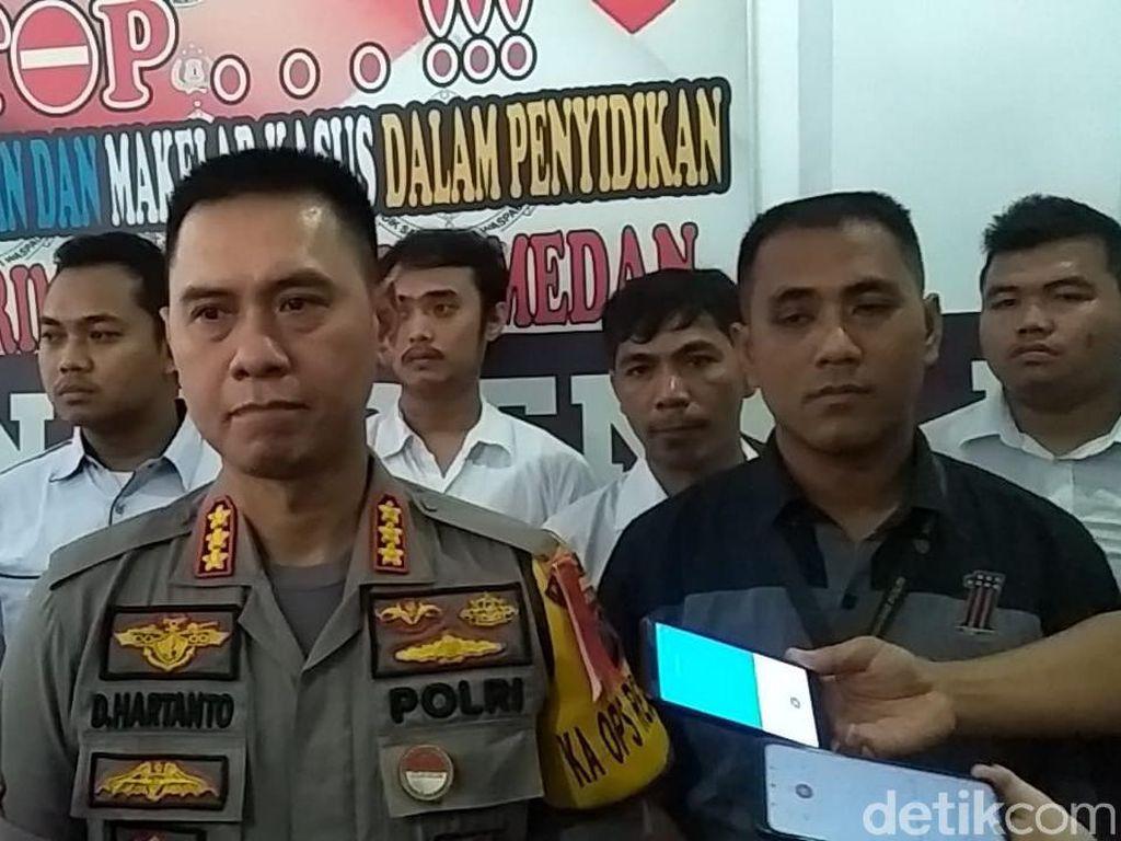 Dor! Polisi Tembak Mati Begal di Medan