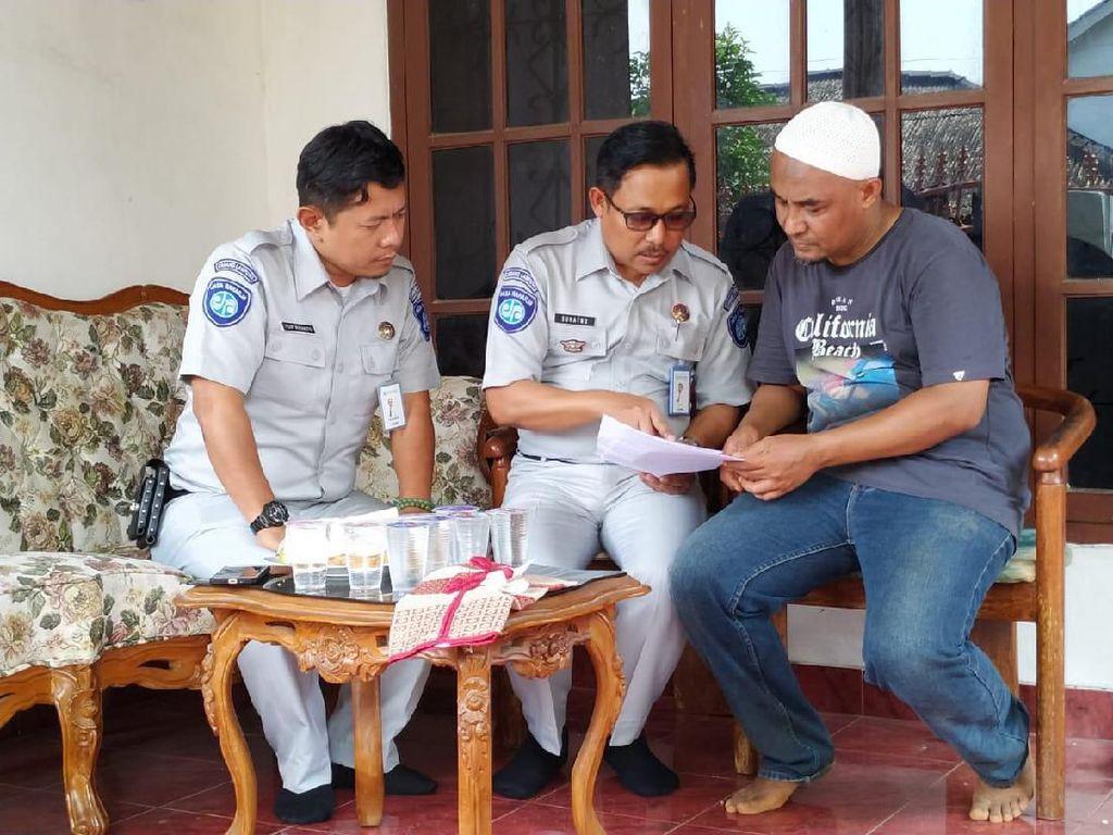 Jasa Raharja Santuni Keluarga Korban Kecelakaan Maut di Tol Cipali