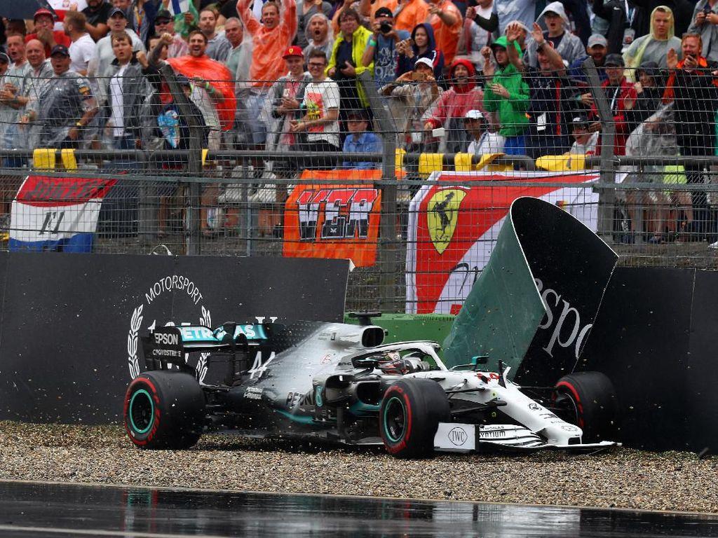 Apes di GP Jerman, Pertama Kalinya Mercedes Gagal Raih Podium