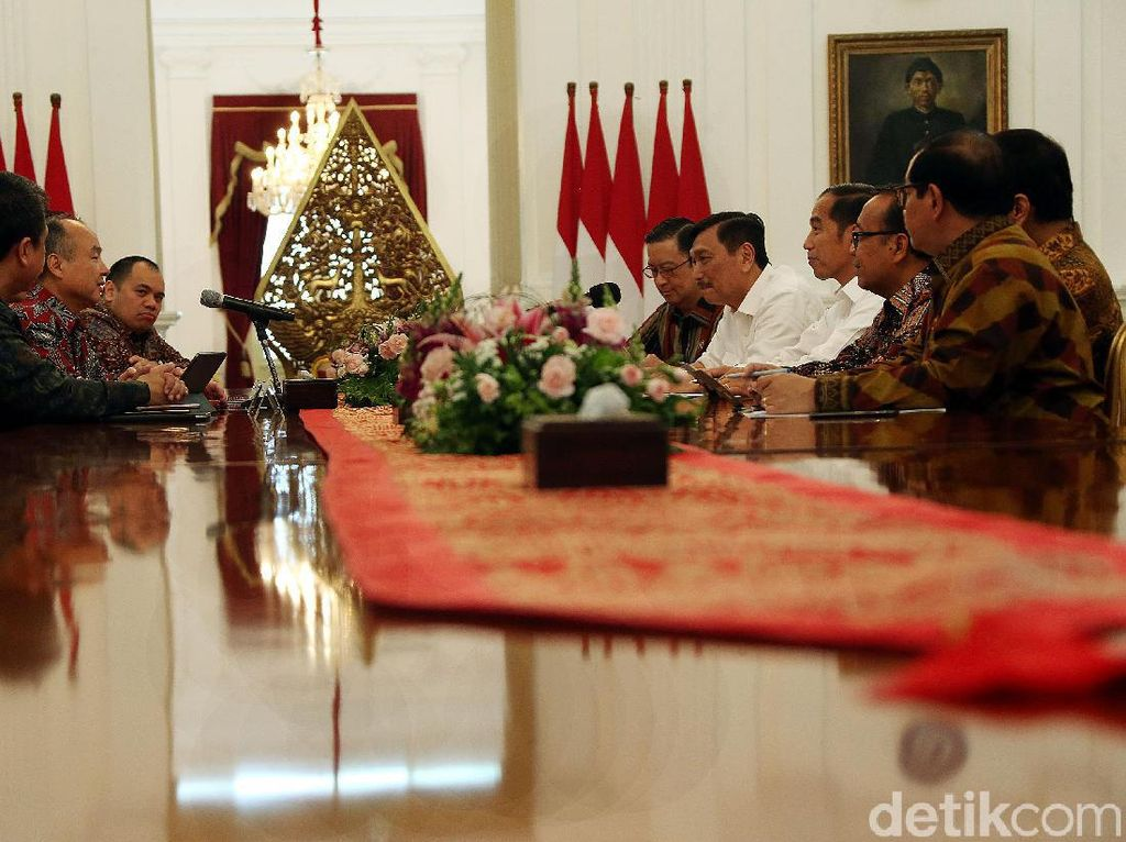Jokowi Bertemu Investor Kelas Kakap di Istana