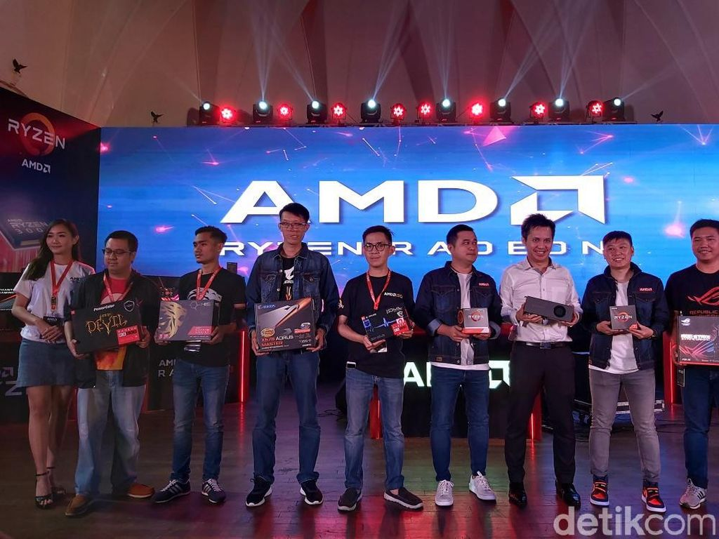 AMD Boyong Lini Ryzen 3000 ke Indonesia, Ini Harganya