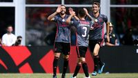 Hasil ICC: Gol Tunggal Taarabt Bawa Benfica Tundukkan Milan