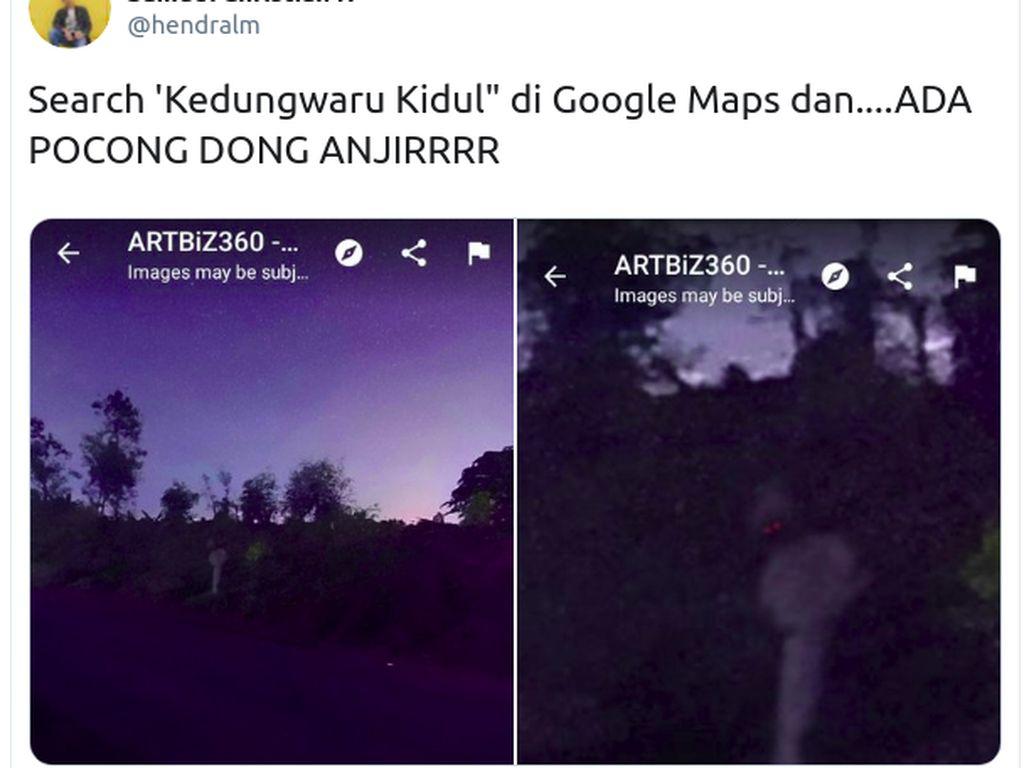 Heboh Penampakan Pocong di Kedungwaru Kidul, Gejala Phasmophobia?