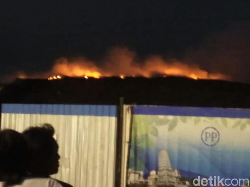 TPA Putri Cempo Solo Terbakar Lagi