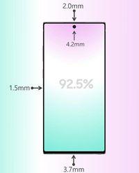 Layar Galaxy Note 10+ Bakal Pecahkan Rekor