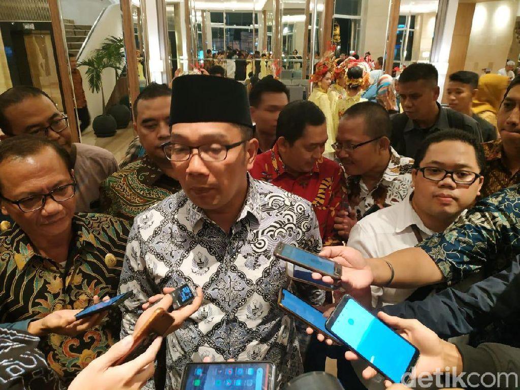 Ridwan Kamil Belum Mau Komentar KPK Tetapkan Sekda Jabar Tersangka
