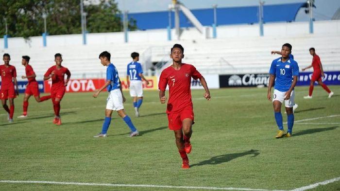 Timnas Indonesia U-15 kalahkan Singapura. (Foto: dok. PSSI)