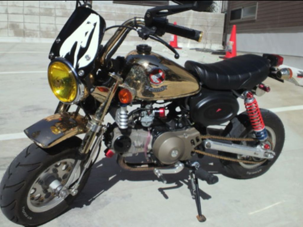 Inspirasi Modifikasi Honda Monkey 1996 Gold