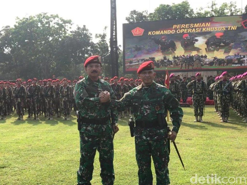 Brigjen Rochadi Jadi Komandan Koopssus TNI