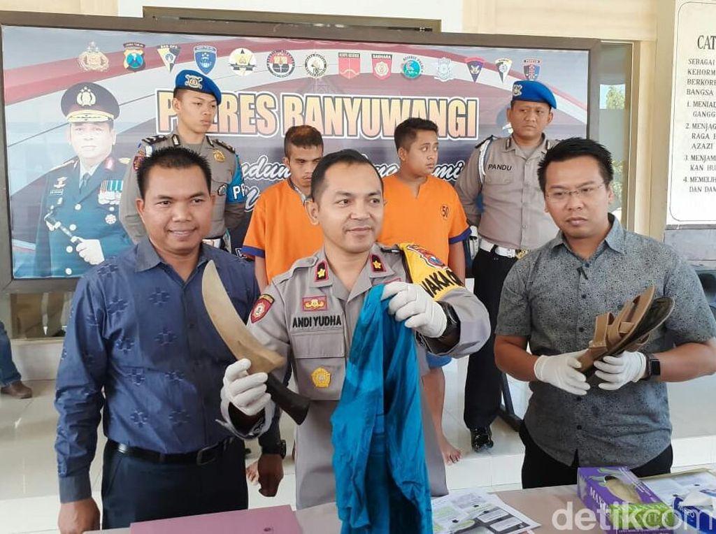 Pakai Mobil Rental, Pencuri Kambing di Banyuwangi Ditangkap