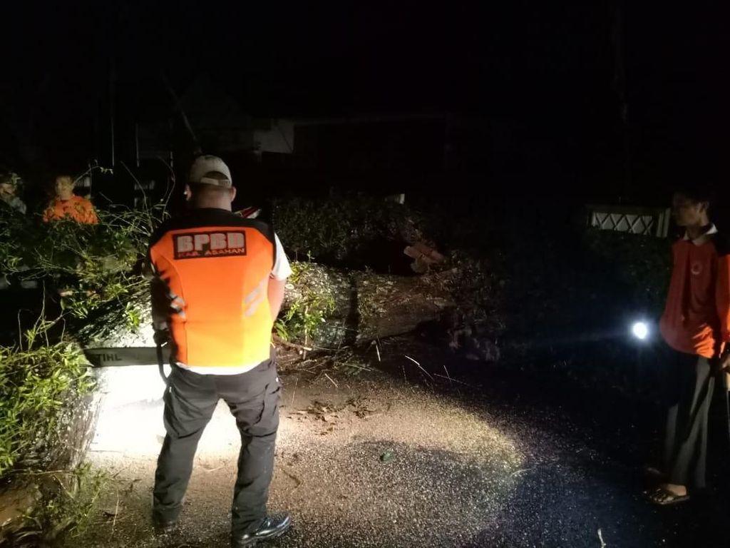 Puting Beliung Terjang Kabupaten Asahan Sumut, 2 Rumah Rusak