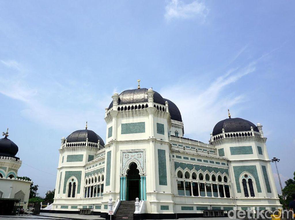 Foto: Masjid 1 Juta Gulden dari Medan