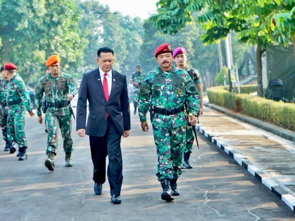 Ketua DPR Ingatkan Koopssus TNI soal Potensi Perang Siber