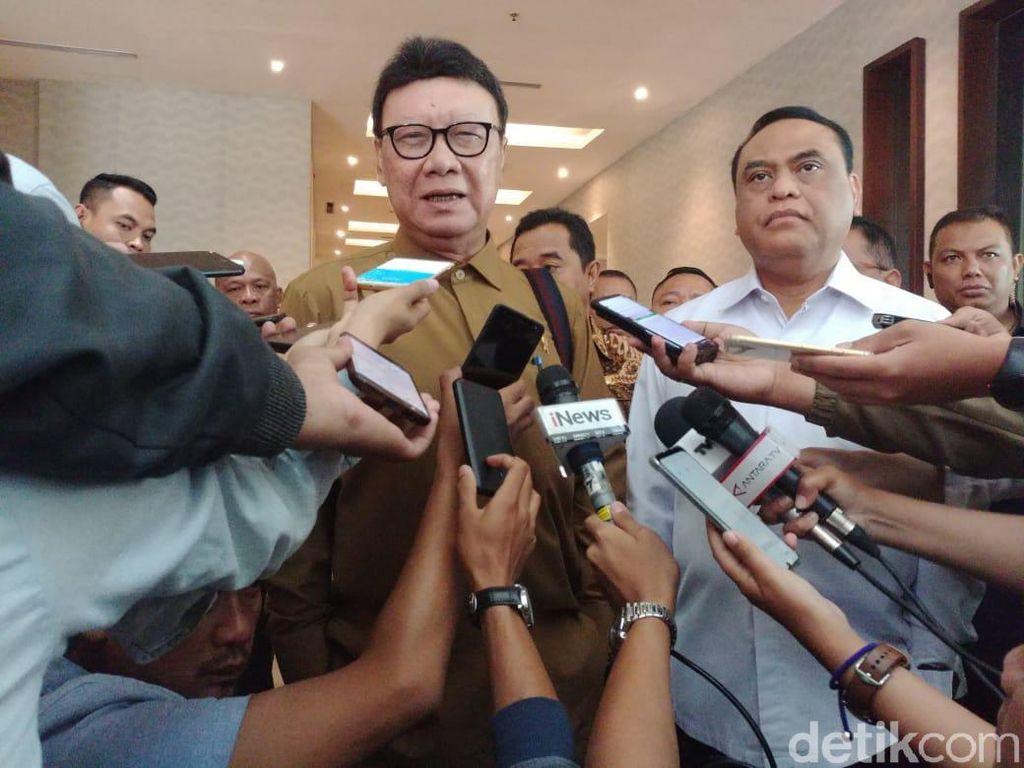 FPI Belum Kantongi Izin, Mendagri: Aturan Harus Ditaati