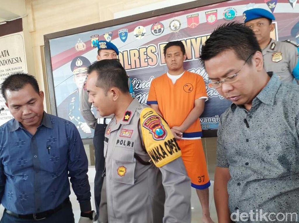 Pasutri Asal Situbondo Ditangkap karena Mencuri di Konter HP