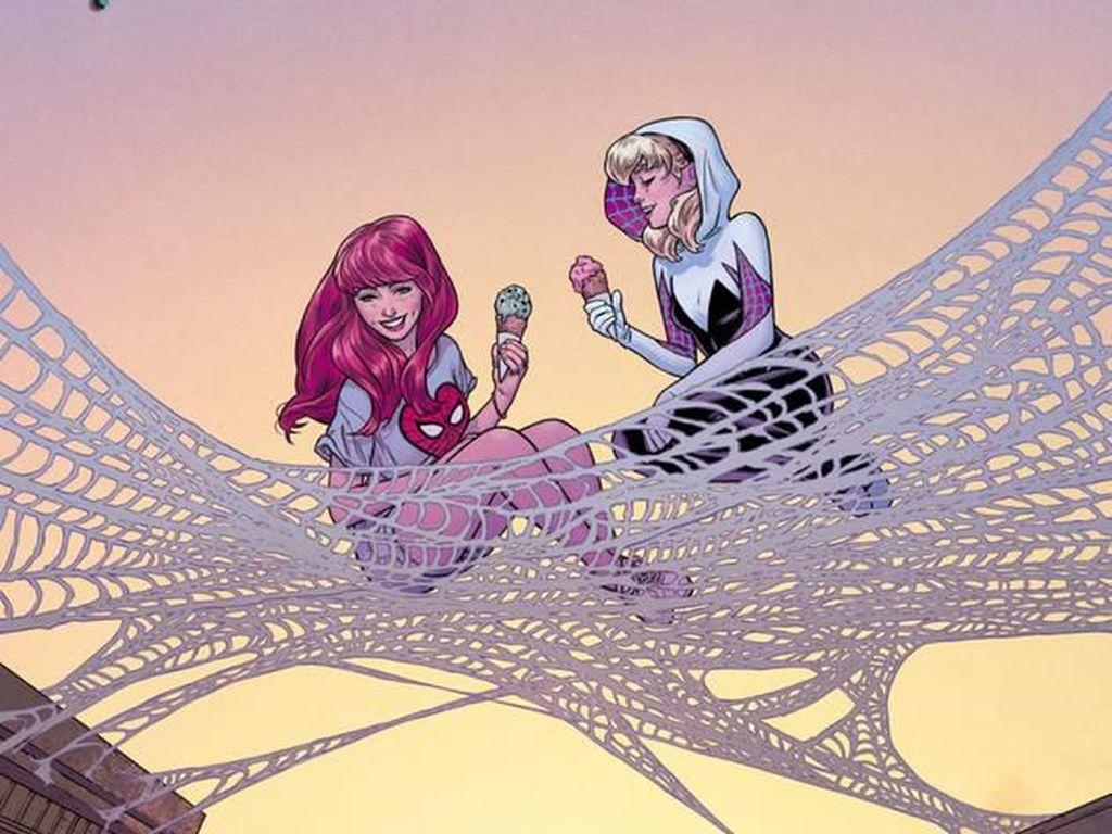 Tak Cuma Komik Solo, Mary Jane Bakal Ada di 24 Sampul Marvel Lain