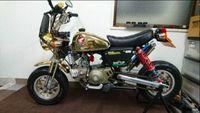 Modif Pamor Honda Monkey 1996 Gold
