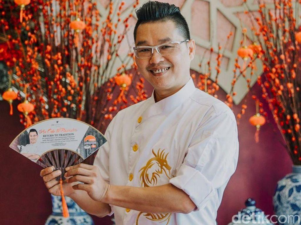 Sentuhan Baru Hidangan Kanton Disajikan Chef KK Chan dari Hong Kong
