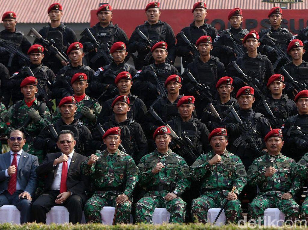 Koopssus Perkuat Jajaran Pasukan Elite TNI