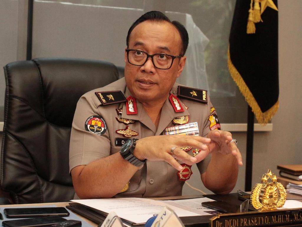 Beredar Video Polisi Teriaki TNI di Mes Pati TNI AL, Ini Penjelasan Polri