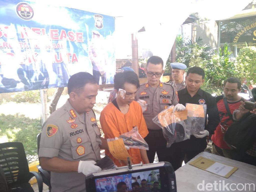Tembakkan Pistol Usai Pesta Arak di Bali, Fardi Ditangkap