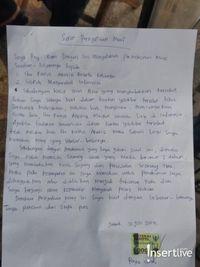 Ini Isi Surat Permohonan Maaf Rey Utami Untuk Fairuz A Rafiq