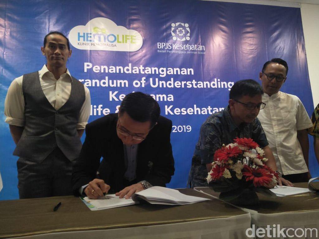 Hemolife-BPJS MoU Beri Pelayanan Pasien Cuci Darah di Bandung
