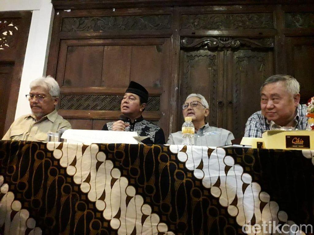 Kaban Cs Desak Jokowi-Prabowo Pulangkan Rizieq Shihab